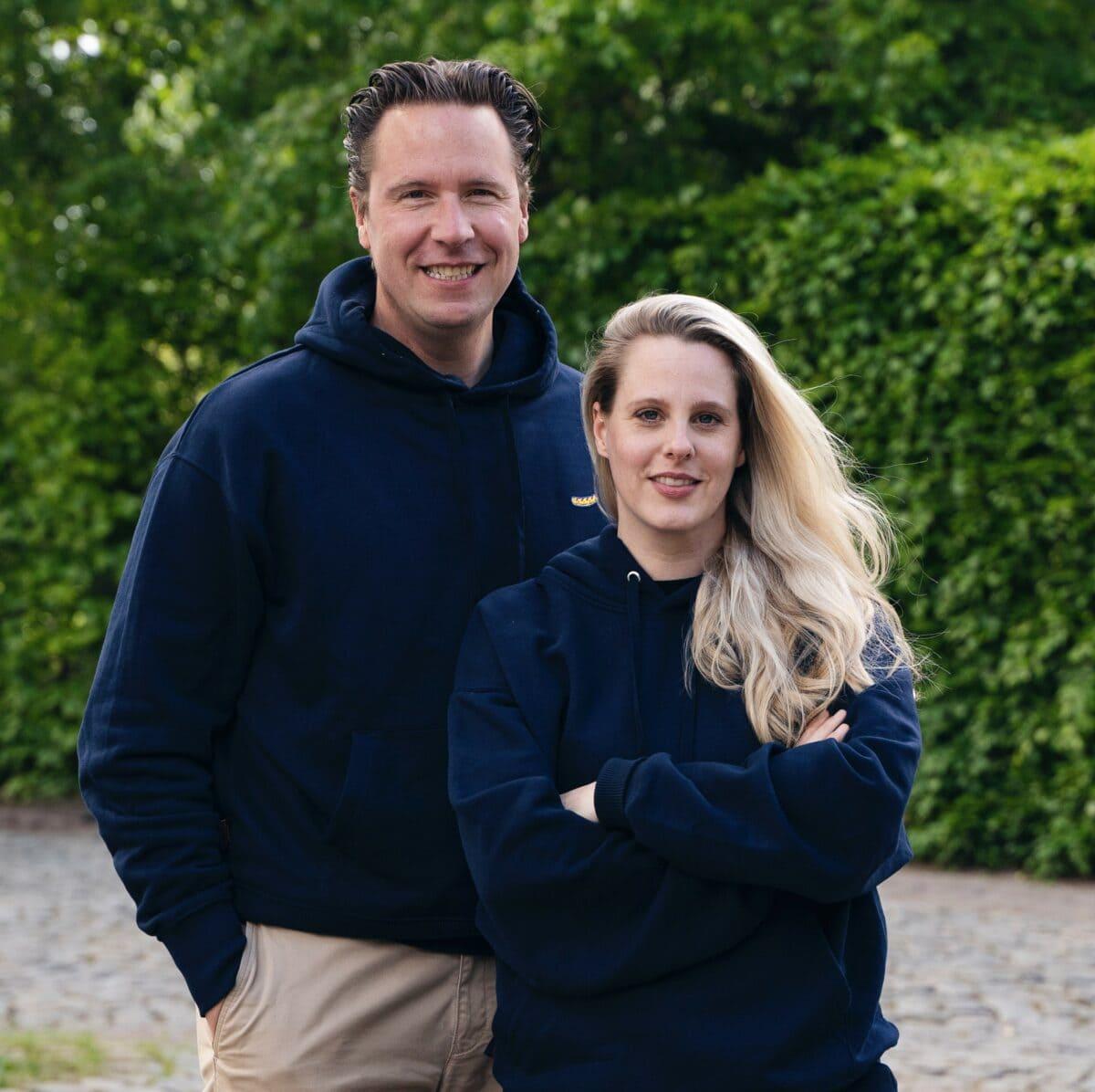 Viviane Wilde und Prof. Dr. Klemens Skibicki